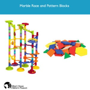Marble Race and Pattern Blocks