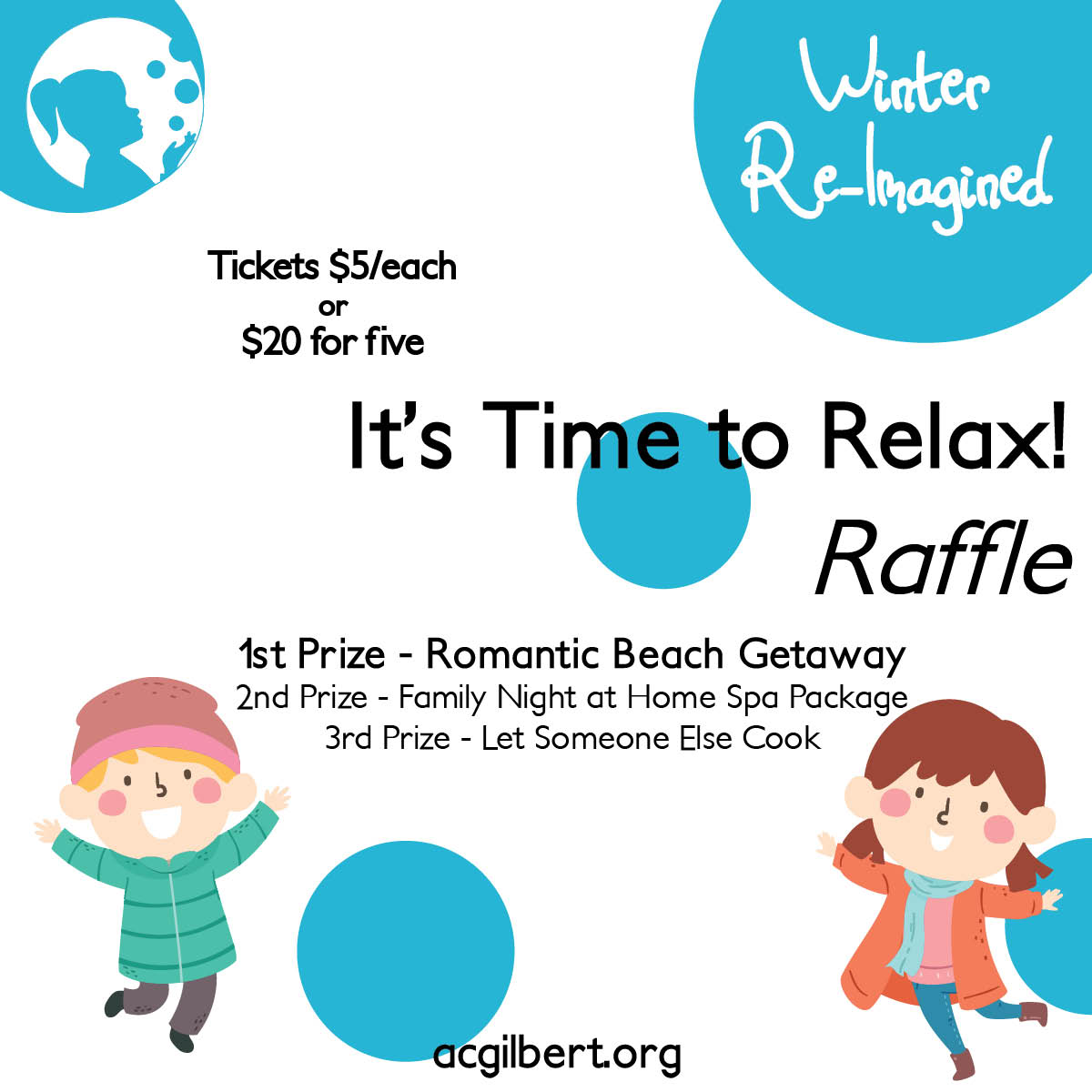 Time to Relax Raffle Ad Block