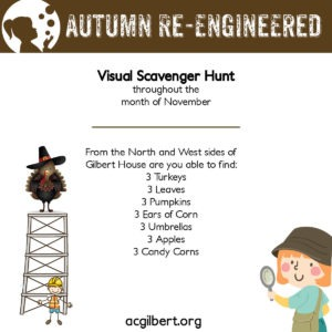 visual scavenger hunt - November
