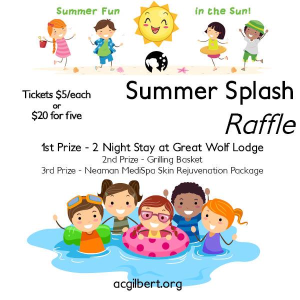 Summer Splash Ad Block