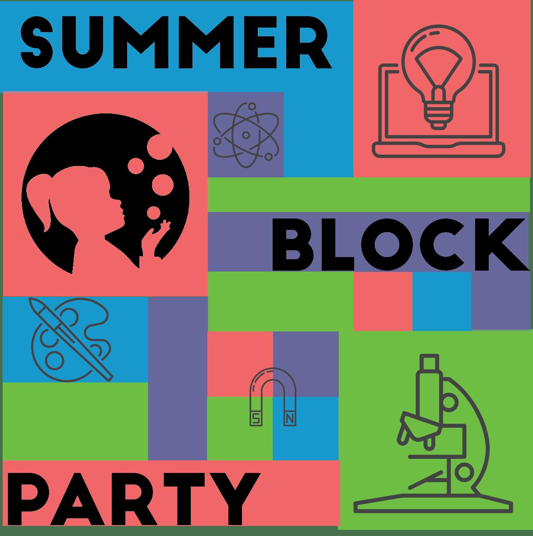 Summer Block Party Logo