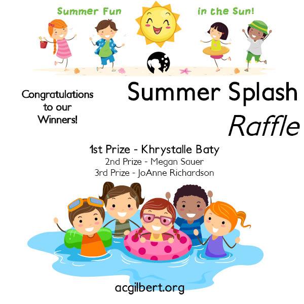 Summer Splash Winners