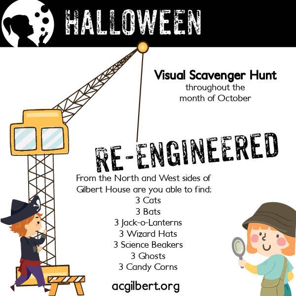 visual scavenger hunt template - October 2021
