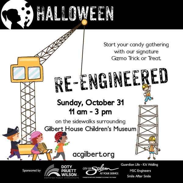 Halloween Reengineered Ad Block 2021